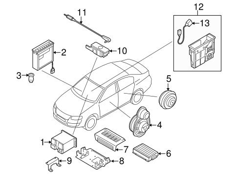 Sound System For 2011 Volkswagen Cc
