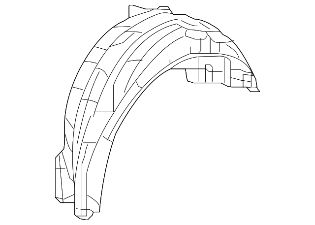 Fender R Rear Inner Honda 74552 Ts8 A01 Discmonster