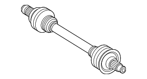 Axle Assembly - Mercedes-Benz (205-350-02-09)