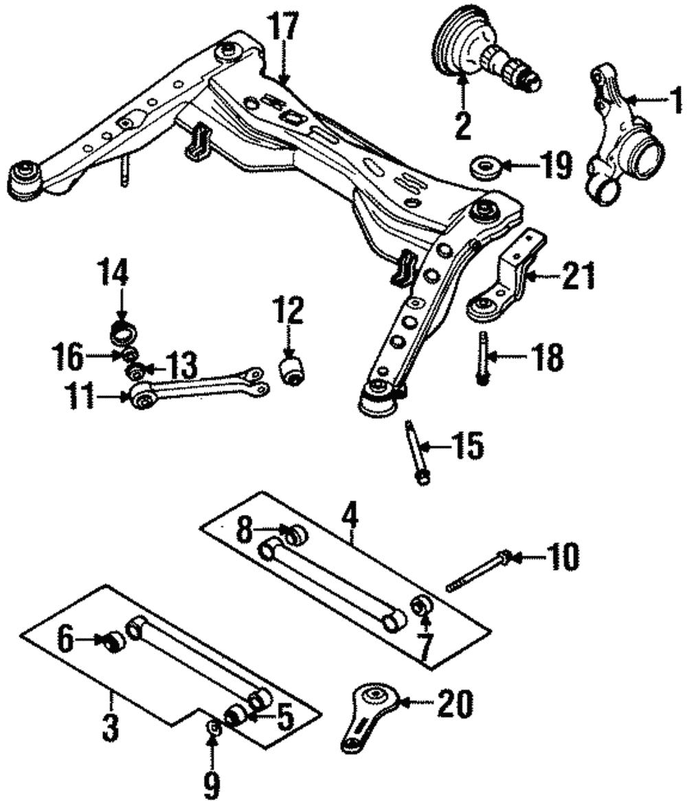 subaru svx parts diagram schematic library Delphi Wiring Harness Connectors control arms parts for subaru svx ebay
