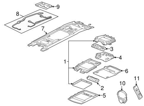 Entertainment System Components For 2009 Pontiac G8
