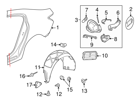 Gm Steering Wheel 23191563 also 1985 Cadillac Eldorado Engine Diagram also 231498940537 additionally Quarter Panel And  ponents Scat further 12770267. on 72 buick gs parts