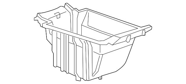 2017 2018 Buick Lacrosse Compartment Box 26676663