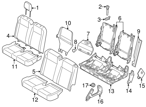 Body/Second Row Seats for 2015 Ford Transit-350 HD #4