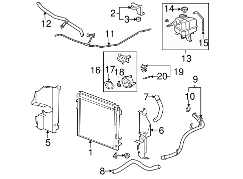 1999 Gmc Yukon Engine Diagram moreover 2009 Nissan Altima Qr25de Engine together with 2006 Gmc Yukon Radiator Diagram as well Starter Location On 2002 Chevy Trailblazer together with Discussion T6396 ds609970. on 2007 chevy malibu coolant hose diagram