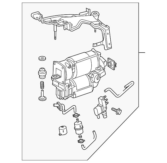 airmatic suspension compressor