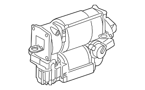 Compressor - Mercedes-Benz (211-320-03-04-80)