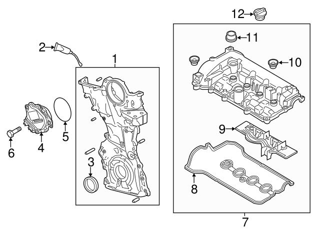 adjust motor o ring mazda pe01 12 257 mazda ny parts 2014 Mazda 3 I Touring
