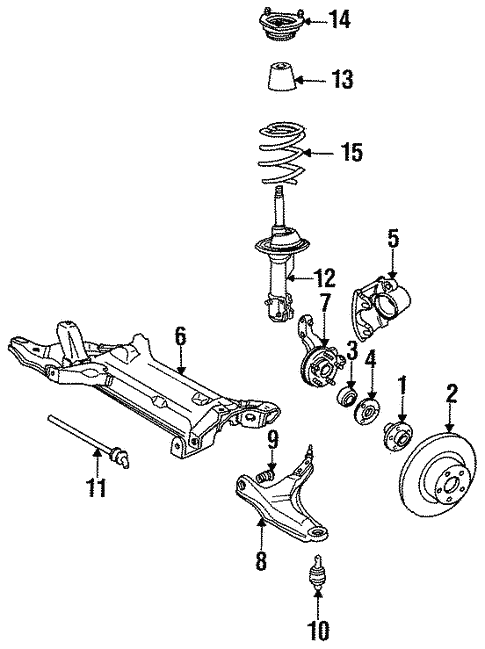 Brakes/Front Brakes for 1985 Chrysler Executive Limousine #1
