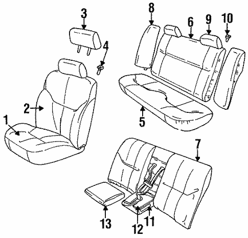 1999 Chrysler Sebring Power Seat Wiring Diagram
