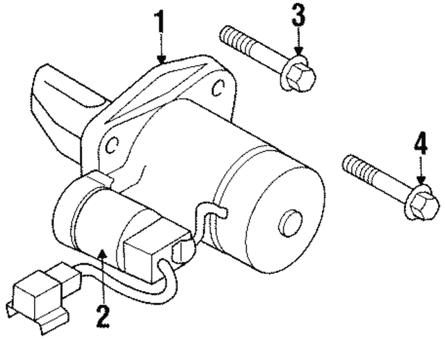 Starter Solenoid Exploded View