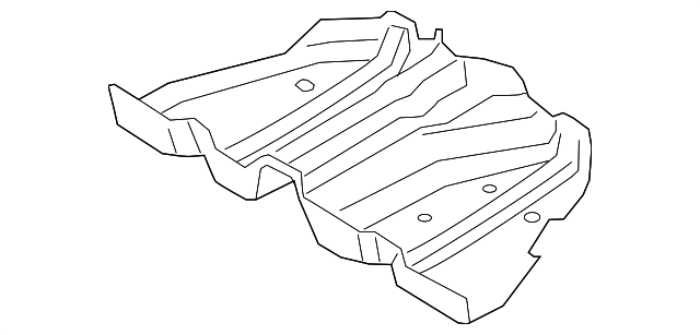 ford fusion exhaust shield