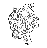 Remanufactured Alternator Assembly - Ford (6U2Z-10V346-DVRM)