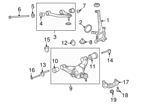 FRONT SUSPENSION/SUSPENSION COMPONENTS for 2013 Toyota Tundra #2