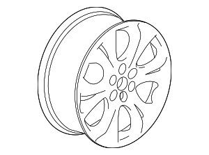 Wheel, Alloy - GM (22996333)