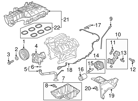 Engine Parts For 2016 Ford F 150