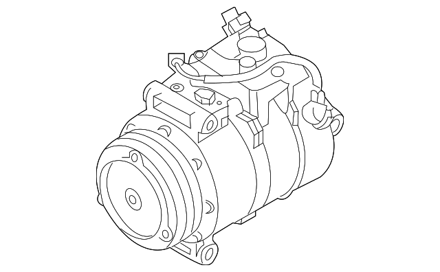 2004 2005 Bmw Compressor 64 50 9 174 802