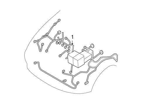 2004 Chevrolet Aveo Wiring Harness
