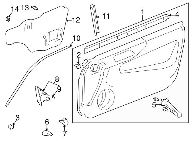 1988 2011 Honda Plug Blind 8mm 95550 08000