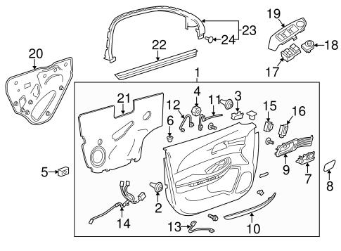 1966 Volkswagen Beetle Headlight Switch Wiring besides  together with F150 Carburetor Diagram besides Interior Trim Front Door Scat besides Daytime Running L s Scat. on gm power mirror switch