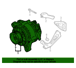 Alternator - Toyota (27060-20040-84)