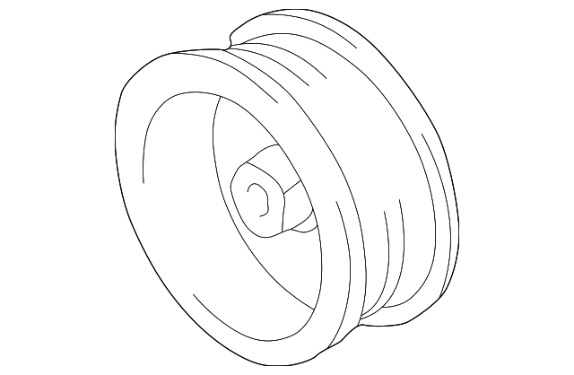 1993 2009 Toyota Pulley 27411 0a050