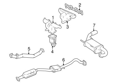 Miata Exhaust Diagram