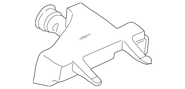 Genuine Hyundai 28112-22602 Air Cleaner Body