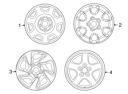 Wheels for 1996 Toyota RAV4 #0