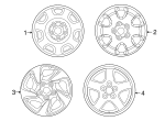 Wheel, Alloy - Toyota (00542-42960)