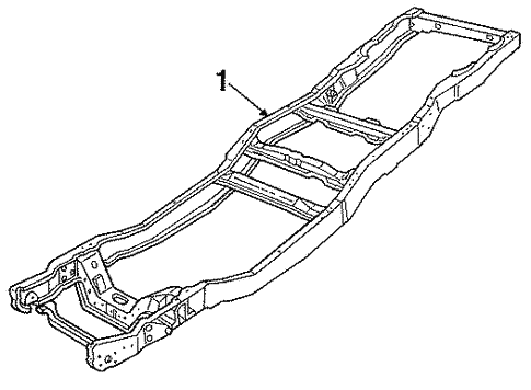 Frame Components For 1987 Ford F 150