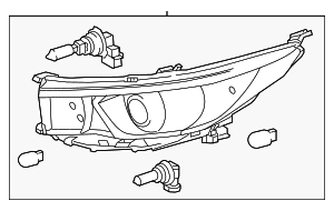 Headlamp Assembly - Toyota (81110-0E330)