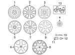 Wheel, Alloy - Toyota (42611-AB011)