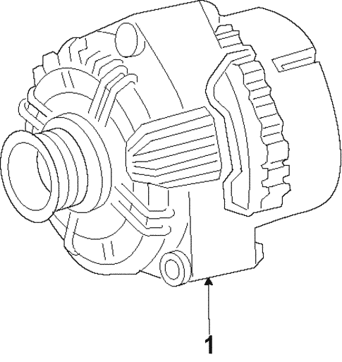 Alternator For 2014 Chrysler 200