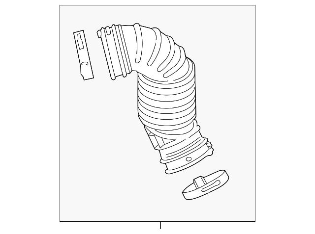 engine air intake hose
