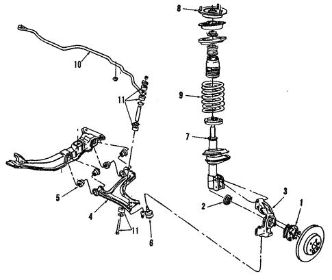 Oem 1993 Buick Skylark Front Suspension Parts
