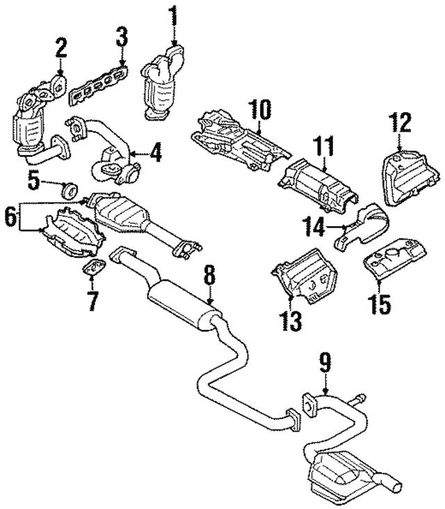 Ford Catalytic Converter Diagram