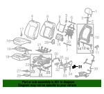 Genuine GM Access Cover 13325403