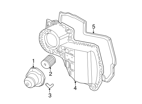 Blower Motor Fan For 2001 Chevrolet S10