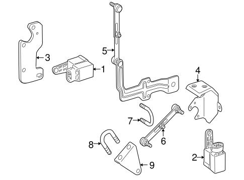 Electrical Components For 2005 Mercedes Benz Slk 350