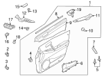 Belt Weather-Strip - Mazda (EG21-58-821A)