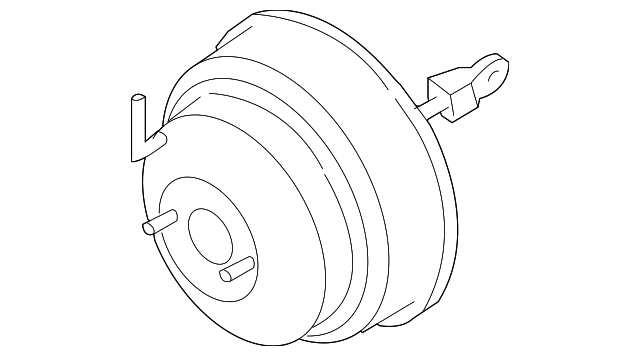 2002 2006 Infiniti Power Booster 47210 Cr626