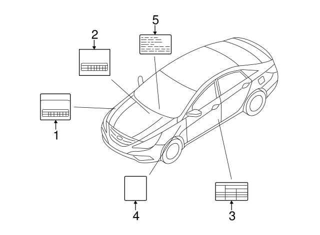 2013 Hyundai Santa Fe Fuse Diagram