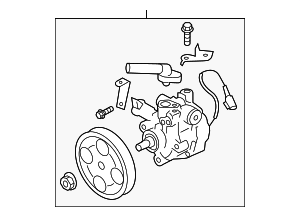 Power Steering Pump - Subaru (34430AG03B)