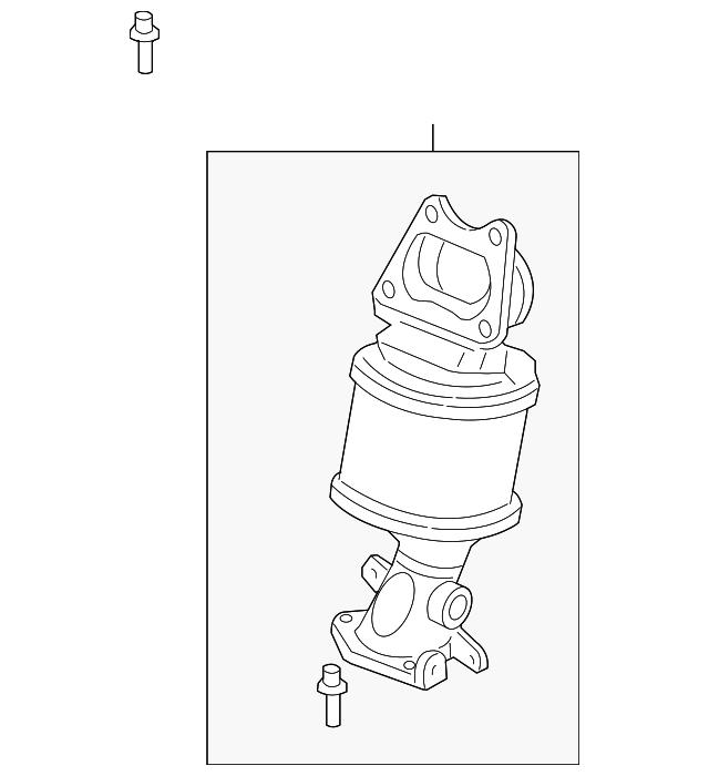 Genuine Acura Catalytic Converter 18290-RCA-L00