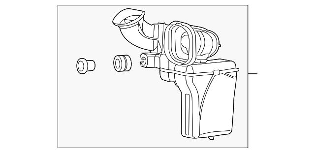 genuine mopar air inlet tube 68241994ac