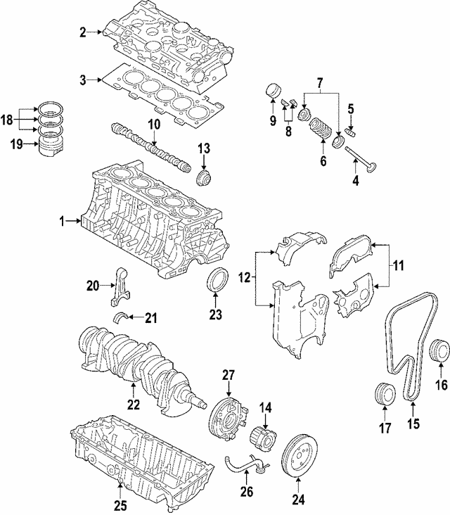 Engine Camshaft - Volvo (8670149)