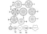 Wheel, Alloy - Subaru (28111SA020)