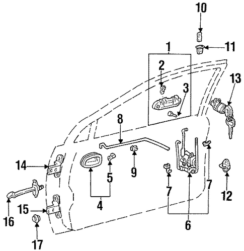 Geo Tracker Automatic Transmission Diagram