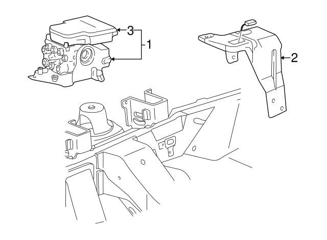 1997 2004 Ford Control Module F85z2c219ba